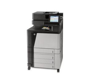 HP Color LaserJet flow MFP M880 Series
